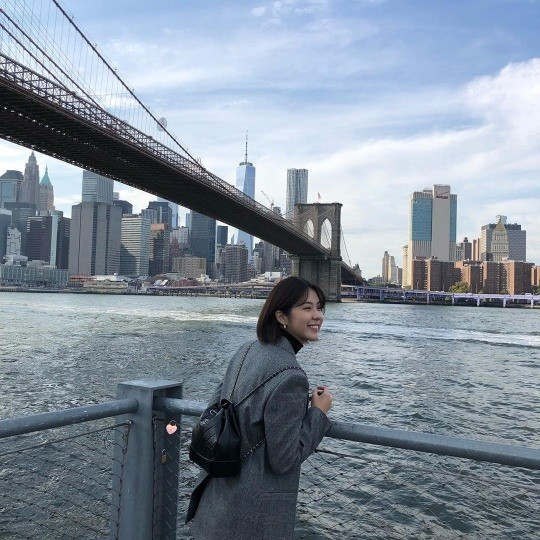 Seo Eun-su, một báo cáo gần đây từ New York, Hoa Kỳ ...