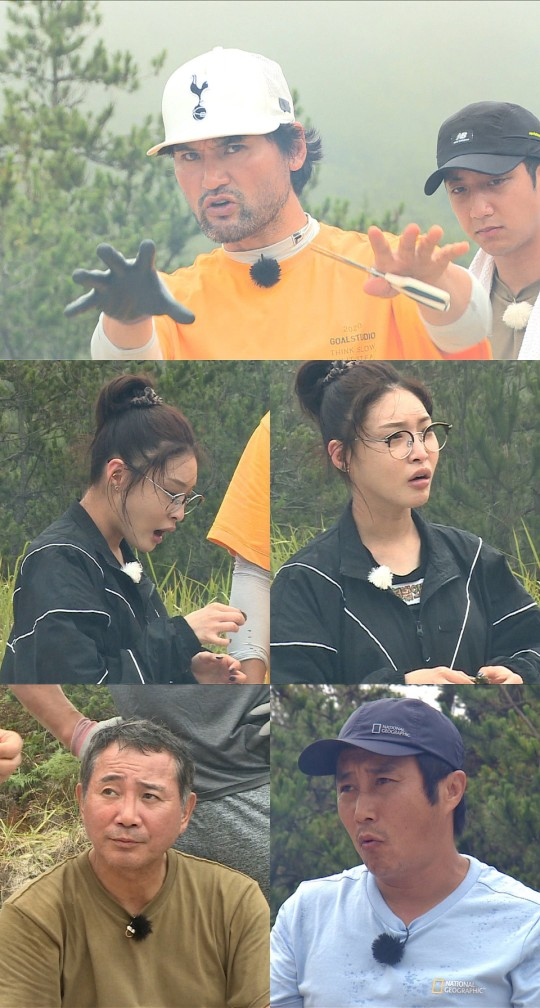 'Law of the Jungle' Cheongha, the first time he eats turtle hands