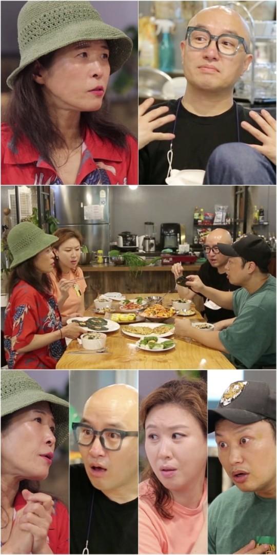 Hong Seok-cheon, Yang Chi-seung, and Kim Seong-gyeong were caught up in the declaration of the establishment of Hwang Ba, a restaurant in Hwang Seok-jeong,'the boss's ears are donkey ears.
