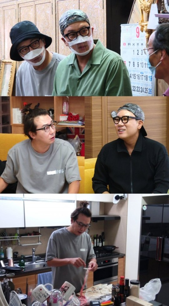 Tak Jae-hoon, Lee Sang-min, was shocked after going to a second-hand store.