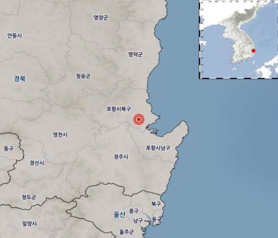 Pohang Earthquake, wake up at dawn, feel bedtime,