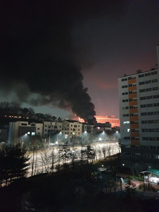 [Tin tức mới nhất] Điện tử Samsung bốc cháy với nhà máy bán dẫn Hwaseong!