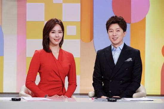 KBS 2TV Lee Seung-hyun-Kang Seung-hwa Announcer Live morning Good morning, King Kong Chef's special dish?