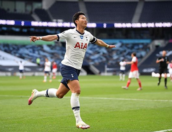 Son Heung-min hat-trick + 1 goal, the first win in the Tottenham League...